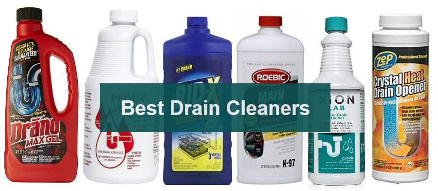 10 best drain cleaners for toilets bathroom and kitchen sinks