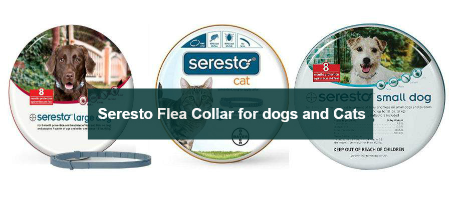 Seresto Flea collar for dogs and cats