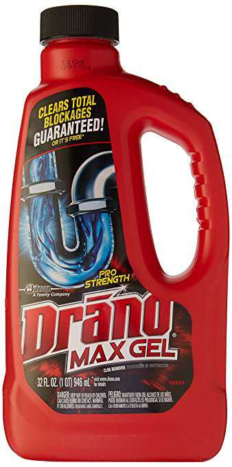 Drano MaxGel Drain Cleaner Professional Strength