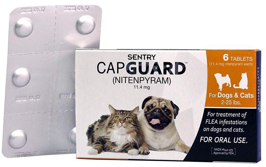 Cap Guard Oral Flea treatment tablets for dogs and cats