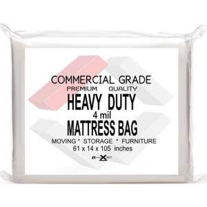 BasiX365 2 Pack Commercial Grade Mattress Bag