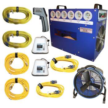 Bed Bug Heater System - Contains All Equipment for Heat Treatment of Bed Bugs