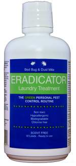 Bed Bug and Dust Mite ERADICATOR Laundry Treatment