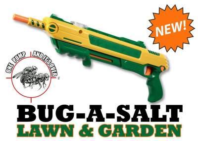 Bug-A-Salt Lawn and Garden Edition