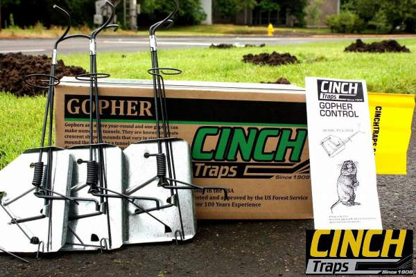 Cinch Traps-Medium Gopher Trap Kit