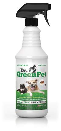 Dr. GreenPet All Natural Flea Control, Flea & Tick Prevention for Dogs & Cats