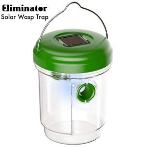 Eliminator Solar Powered Outdoor Wasp Trap Catcher