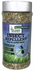 Go-Green Insect Repellent - Natural, Biodegradable, Non Toxic Insect Repeller Pellets