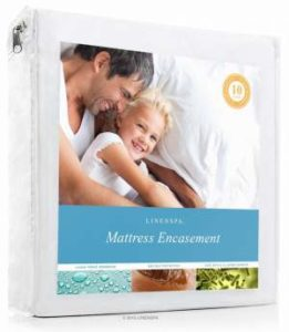 LINENSPA Zippered Waterproof bed bug Encasement