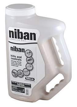Niban Granular Pest Control Insecticide Bait 4 LB Shaker - Kills Earwig