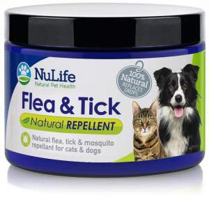 NuLife Natural Flea and Tick Repellent Control For Dogs and Cats