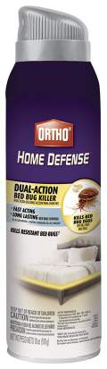 Ortho Home Defense Dual-Action Bed Bug Killer Aerosol Spray