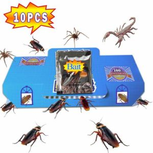 QUIET Pest Control Traps Sticky Glue- Non-Toxic Earwig Baits