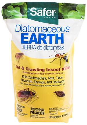 Safer Brand 51703 Diatomaceous Earth Bed Bug, Flea and Ant Crawling Insect Killer