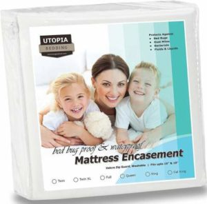 Utopia Bedding Water and Bed Bug Proof encasement