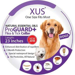 XUS Collar - Flea & Tick Repellent collar for dogs and cats