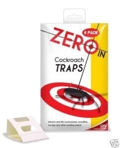ZERO in Cockroach and Earwig Traps