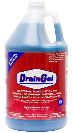 Drain Gel to get rid of drain flies