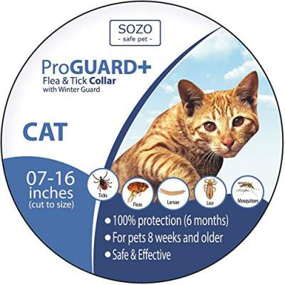 Flea Tick Collar - CAT - ProGuard Plus II