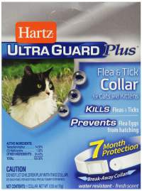 Hartz ultra guard plus flea and tick collar
