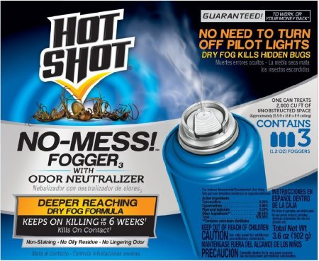 Hot Shot No-Mess Insect Fogger